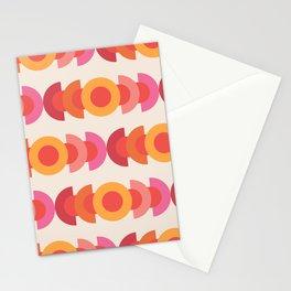 70's pattern no1 Stationery Cards