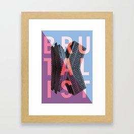 Brutalist Framed Art Print