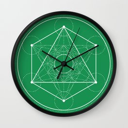 Metatron Wall Clock