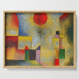 Paul Klee abstract Serving Tray