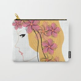 Girl - spring. Carry-All Pouch