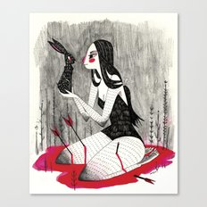 Saved Canvas Print