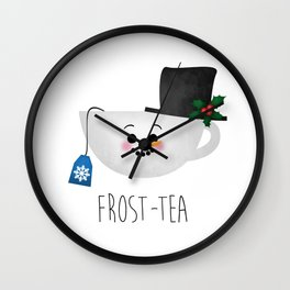 Frost-tea Wall Clock