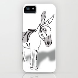 Hen and Donkey iPhone Case