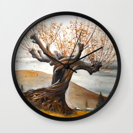 Whomping Willow Wall Clock