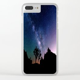 the milky way. Clear iPhone Case