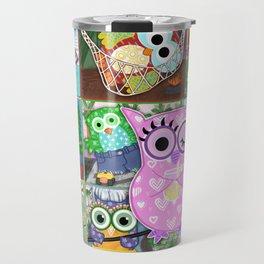 Vacation Owls Travel Mug