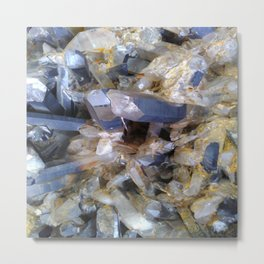 Mineral background Metal Print