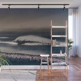Windswept Waves Wall Mural