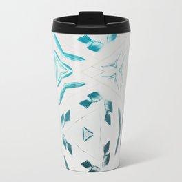 Chillin Blue Pattern Travel Mug