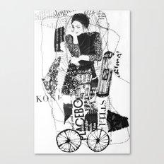 thinking-transport Canvas Print