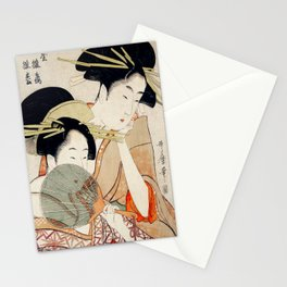 The Two Girls Stationery Cards