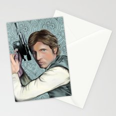 Han Solo StarWars Movie Poster Print Stationery Cards