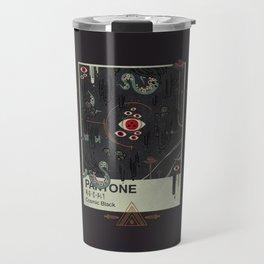 Cosmic Black Travel Mug