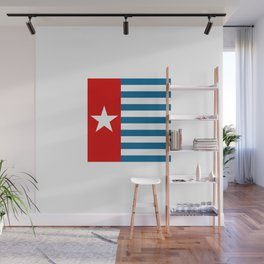 Flag of the morning star Wall Mural