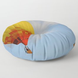 Hot Air Balloon 2 Floor Pillow