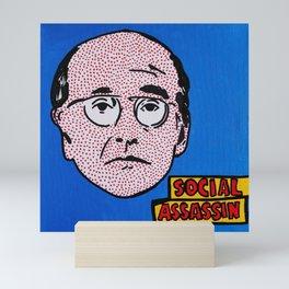 Social Assassin | Pop Art Mini Art Print