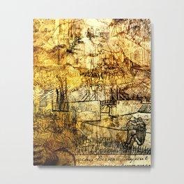 Vincent van Gogh - The Sketches Metal Print