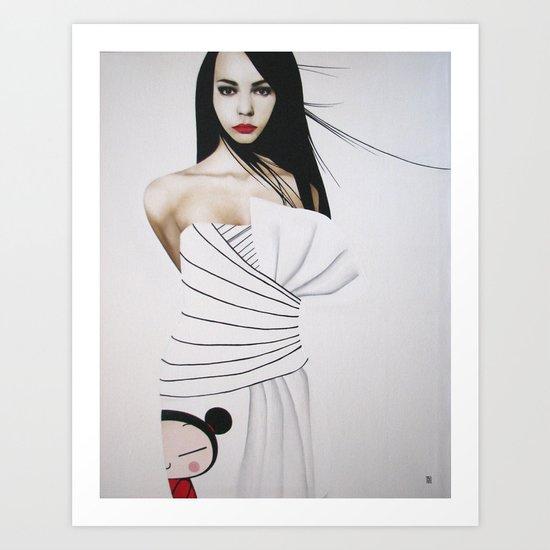 LOLITA TEENAGER 2008 Art Print