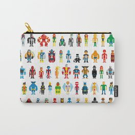 Pixel Heroes Carry-All Pouch