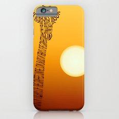 Giraffe and sun Slim Case iPhone 6s