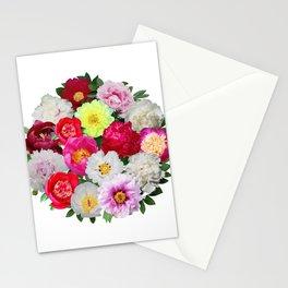 Peony Extravaganza Stationery Cards
