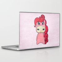 mlp Laptop & iPad Skins featuring A Boy - Pinkie Pie by Christophe Chiozzi