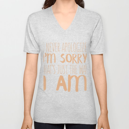I Never Apologize I'm Sorry by passionloft