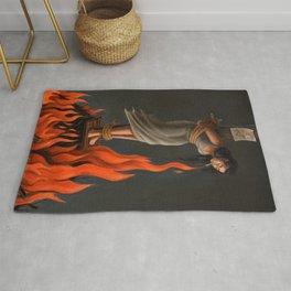 Keep Cool Oil Painting Rug