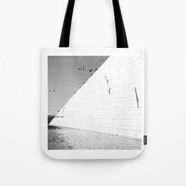 Shadows birds Tote Bag