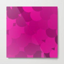 purple dot Metal Print
