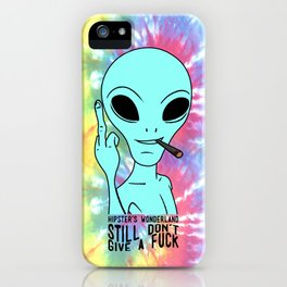 Still Alien iPhone Case