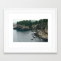 salt water Framed Art Prints featuring Salt by Amie Santavicca