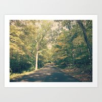 onward Art Prints featuring Onward by Oh, Good Gracious!