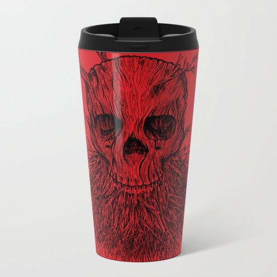 The Lumbermancer Metal Travel Mug