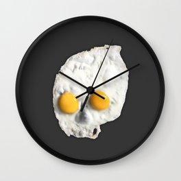 Egg Skull Wall Clock