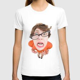 Stressed Out Fisheye Geek T-shirt