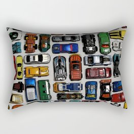Toy cars pattern Rectangular Pillow