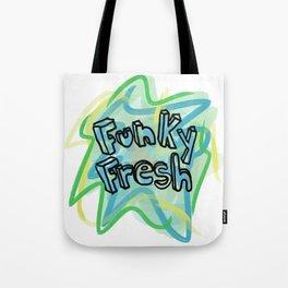 Funky Fresh Tote Bag