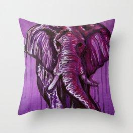 Thom Clark - Elephant 01 Throw Pillow
