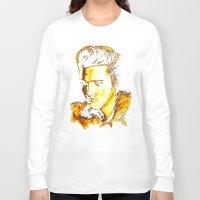 elvis presley Long Sleeve T-shirts featuring Elvis Presley by GittaG74