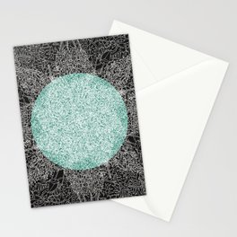 - hello fire invert - Stationery Cards