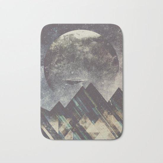 Sweet dreams mountain Bath Mat