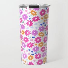 Field Flowers  Travel Mug