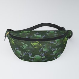 Frogs On Weed Fanny Pack