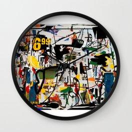 On the Run Wall Clock