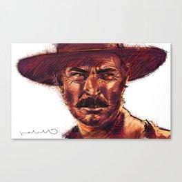 The Bad - Lee Van Cleef Canvas Print