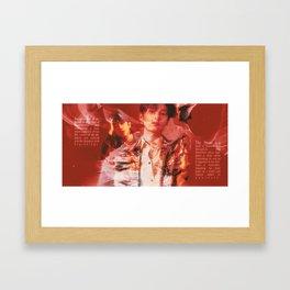 Jun + The8 Tarot Poster Framed Art Print