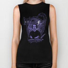 Edgar Allan Poe Gothic Biker Tank