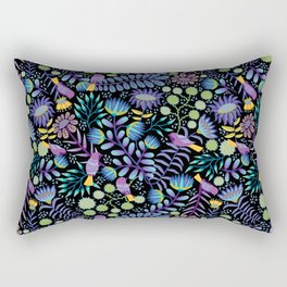 Thistle Garden - Dark Rectangular Pillow